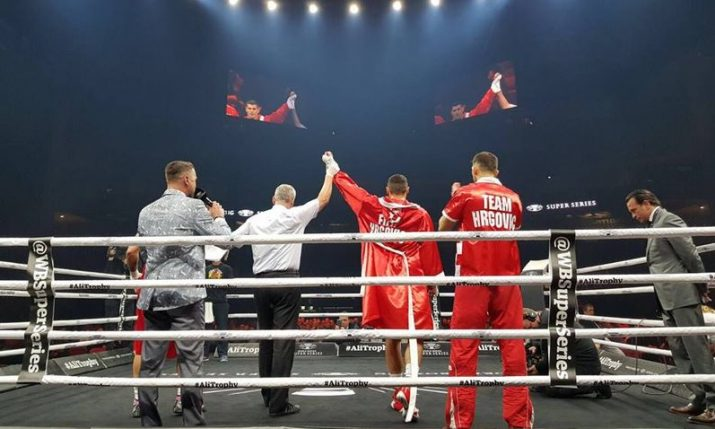 Croatian Boxer Filip Hrgovic Wins Debut Professional Fight