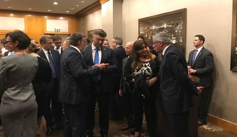 Croatian Prime Minister Meets Croatian Community in the United States