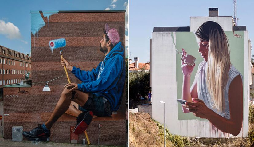 Top Croatian Artists' Impressive Murals in Sweden & Portugal