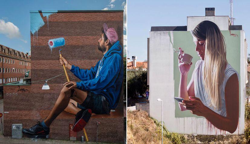 Top Croatian Artists' Impressive Murals in Sweden & Portugal