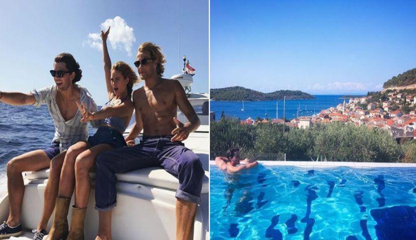 Mamma Mia 2 Stars Enjoying the Croatian Island of Vis