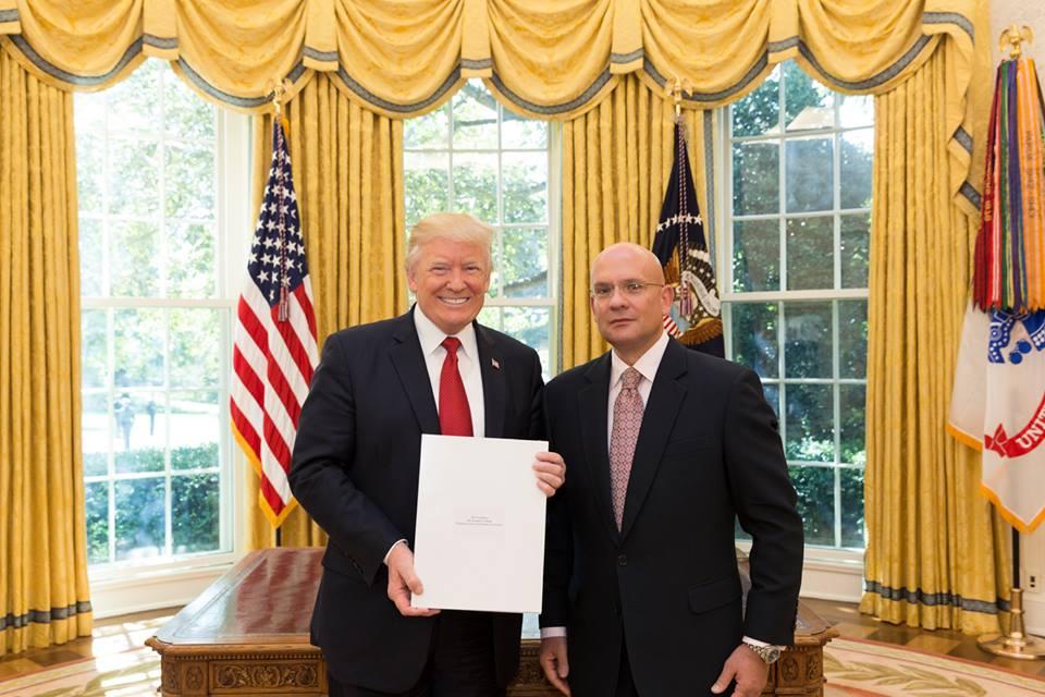 New Croatian Ambador To The Us Presents Credentials President Trump