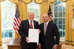 New Croatian Ambassador to the US Presents Credentials to President Trump