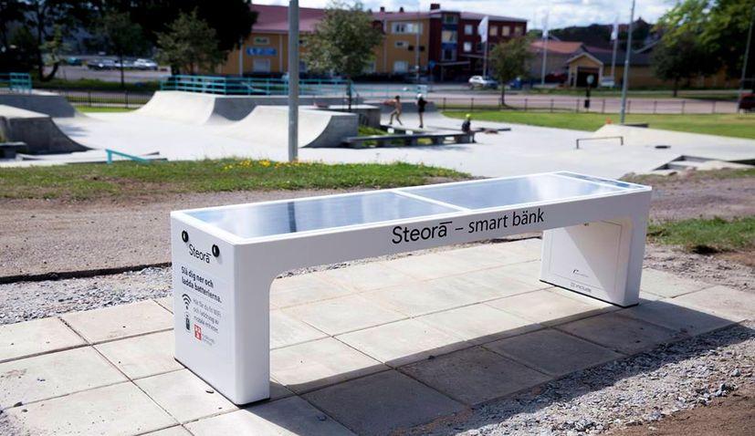 Croatian Smart Benches Spreading Across Sweden