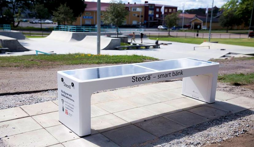 Croatian Smart Benches Spreading Across Sweden