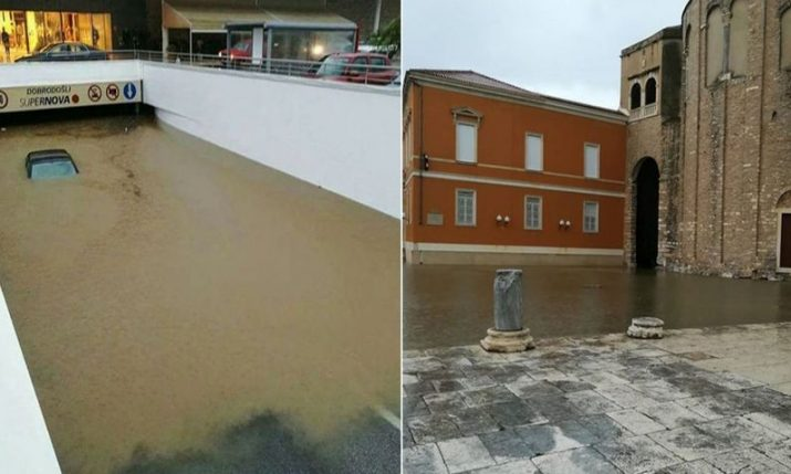 [VIDEO] Big Floods in Zadar
