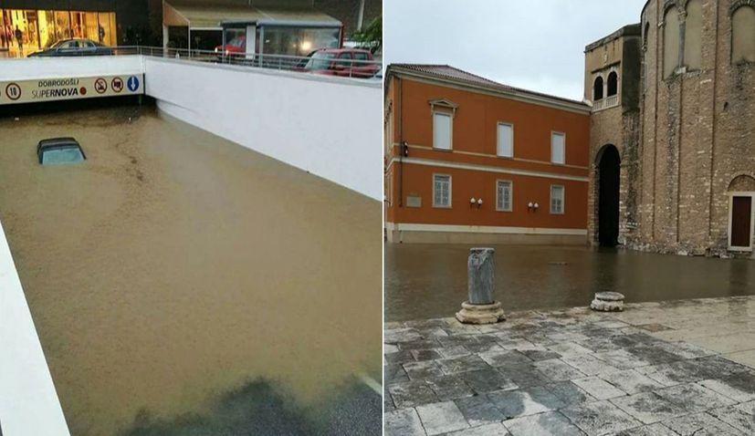 [VIDEO] Big Floods in Zadar