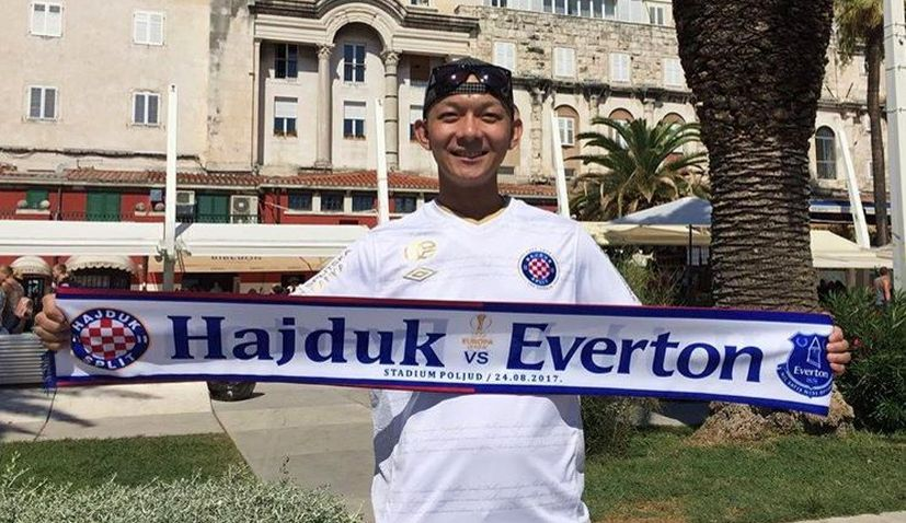 Meet the Japanese Fan Crazy for Hajduk Split