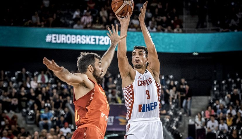 EuroBasket 2017: Croatia Narrowly Go Down to Favourites Spain