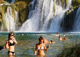 Swimming Restrictions Introduced at Krka National Park