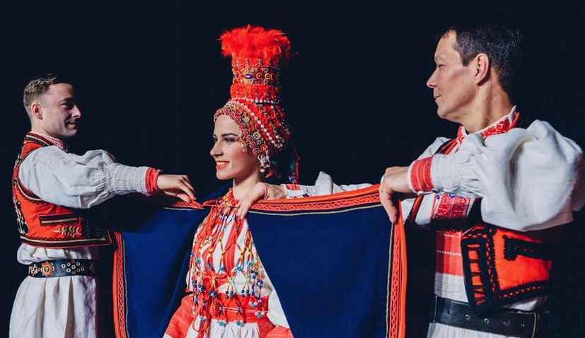 National Folk Dance Ensemble of Croatia 'LADO' Preparing Spectacular in Split