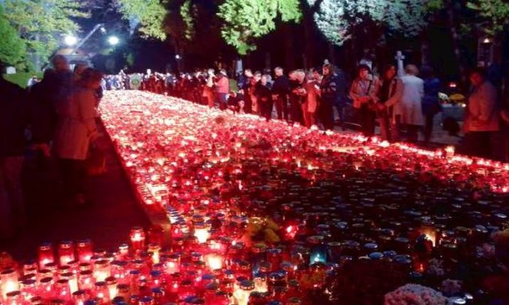 All Saints' Day being observed in Croatia today