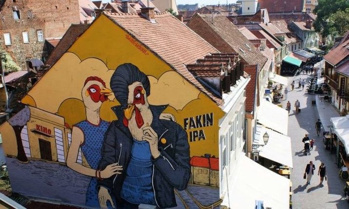 Cool Spots in Zagreb for Real Street Art Lovers