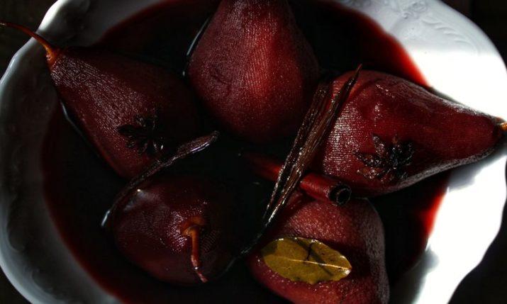 Croatian Recipes: Pears Poached in Pelješac Varenik by Little Chef & Little Market