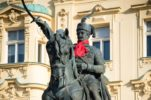 Tie Goes on Monuments to Mark World Cravat Day