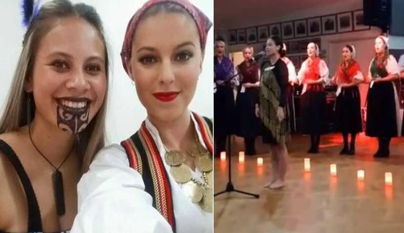 [VIDEO] New Zealand Maori Girl Singing Traditional Croatian Song at Independence Day Celebrations