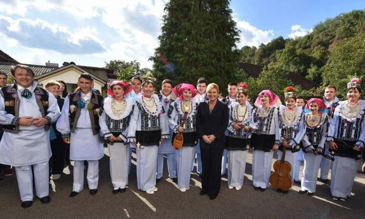 Croatia's President Visits Oldest Croatian Community in the World