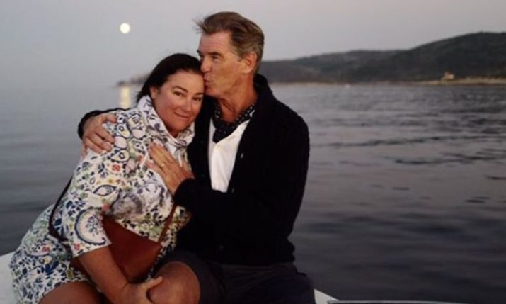 Pierce Brosnan Dazzled by the Croatian Island of Vis