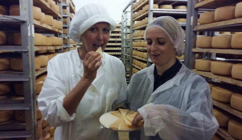 New Zealand Cheesemaker Visits Paska Sirana on Pag