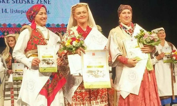2017 Model Croatian Rural Woman Crowned