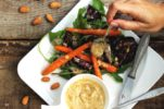 Baked Beetroot & Carrot Salad with Brown Butter Vinaigrette by Little Chef & Little Market