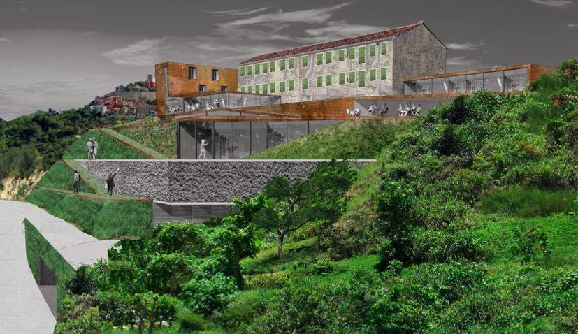 Work Starts on Roxanich Super Winery & Hotel in Motovun