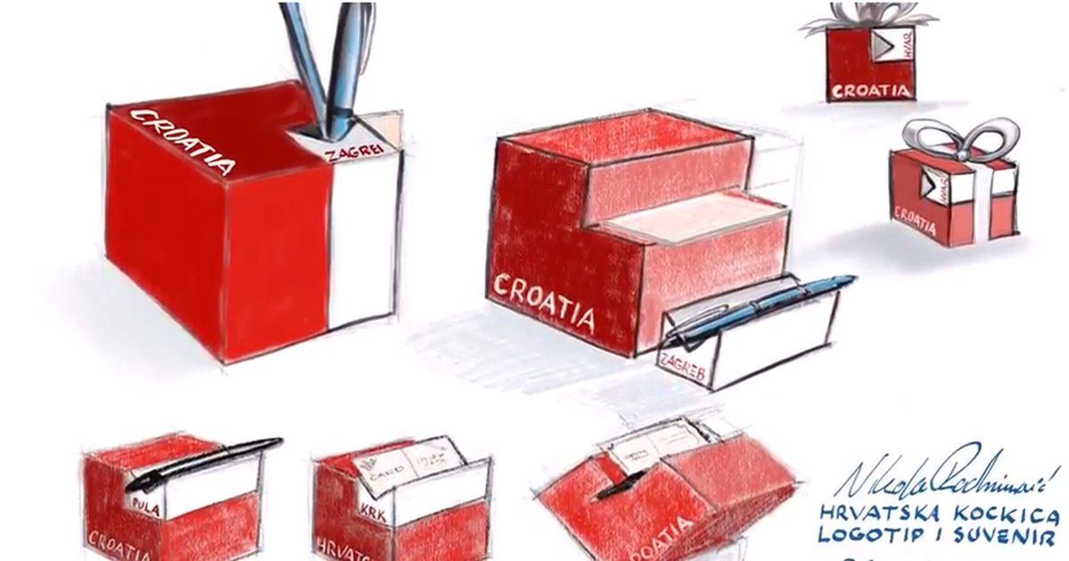 Croatia Cube Heart Souvenir Wins Gold