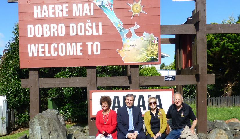 Croatian Ambassador Visits Far North of New Zealand