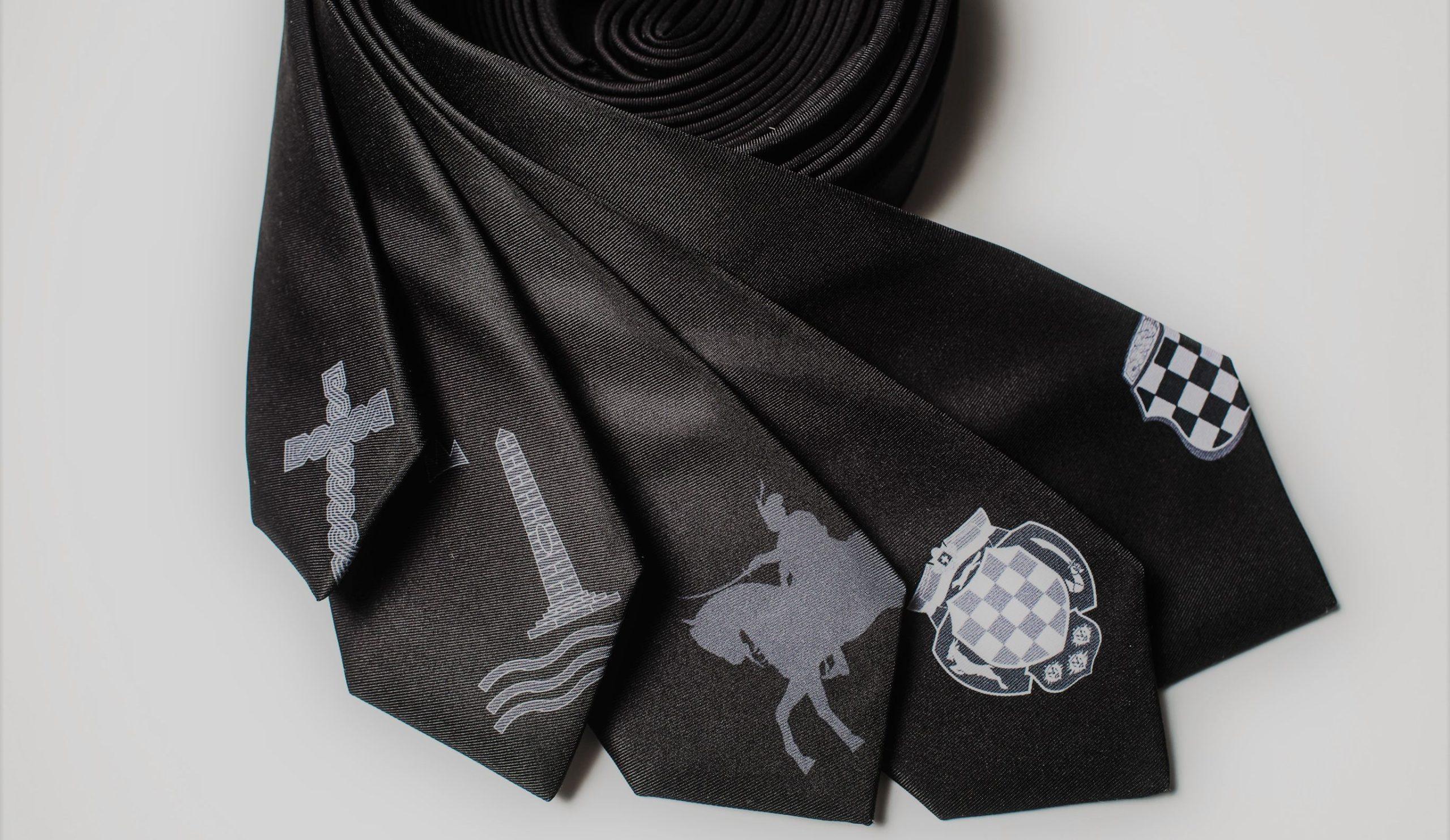 Canadian Clothing Brand Create Croatian Motif Ties