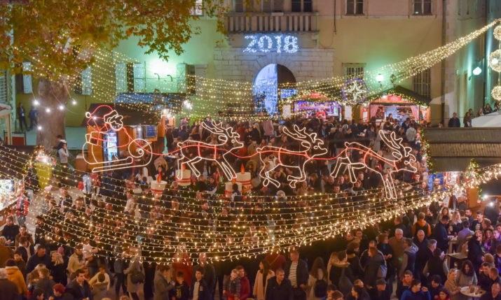 PHOTOS: Advent in Zadar Opens