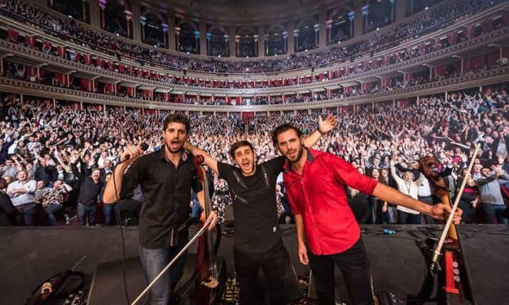 VIDEO: 2CELLOS Play Prestigious Royal Albert Hall in London