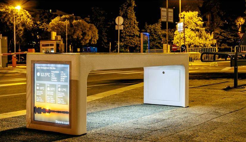 Croatian Smart Bench Just Got Smarter