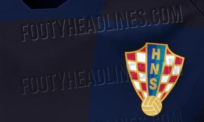 More Leaks of Croatia's New World Cup Kit Emerge Online