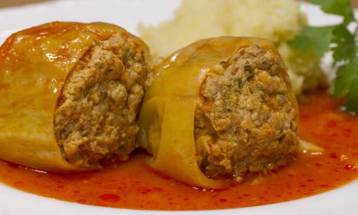 Croatian recipes: Punjene paprike / stuffed peppers