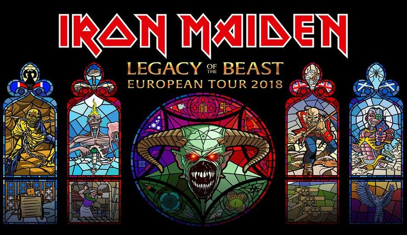 Iron Maiden Coming to Play in Croatia