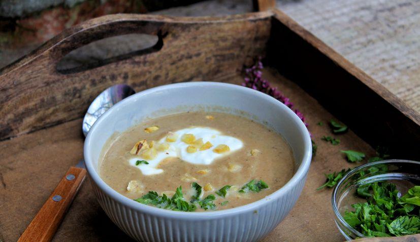 Recipe: Juha od Kestena (Chestnut Soup) by Little Chef + Little Market