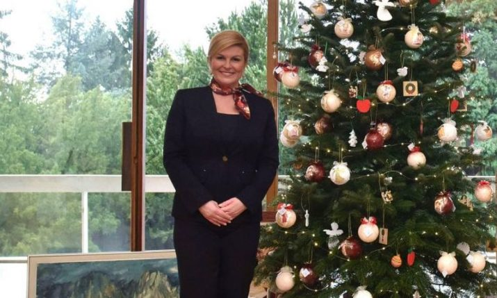 Christmas Wishes from the President of Croatia