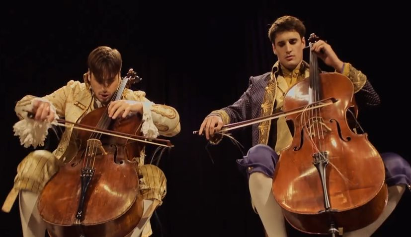 VIDEO: 2CELLOS First Croatians with YouTube Video to Hit 100 Million Views