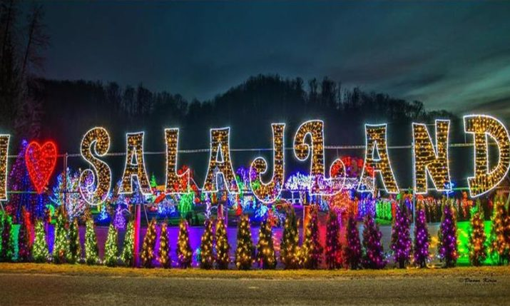 VIDEO: Magical Salajland Christmas Park Opens