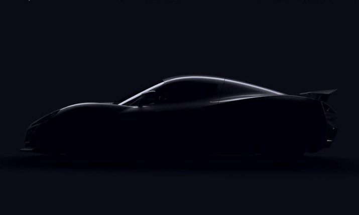 Rimac Gives Glimpse of New Concept Two Hypercar
