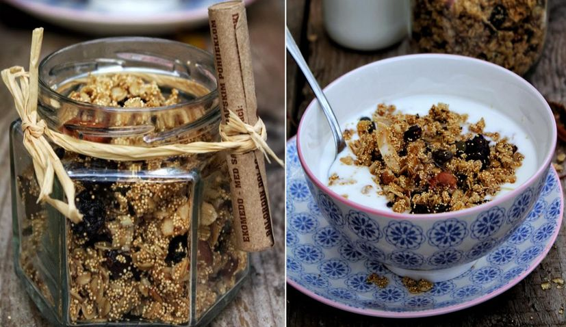 Homemade Granola by Little Chef & Little Market