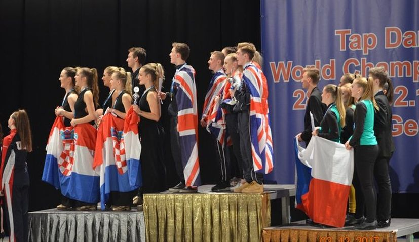 Big Success for Croatia at 2017 World Tap Dance Championships in Germany
