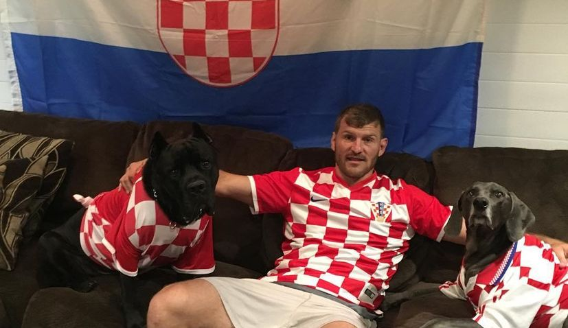 Stipe Miocic: 'I would love to fight in Croatia, I just love the country and being Croatian'