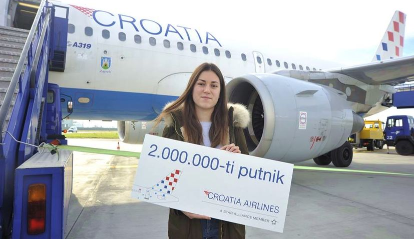 Croatia Airlines Records 2 Million Passengers for First Time in History