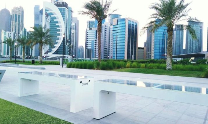 Croatian Smart Bench Global Expansion Continues with Doha Placements