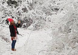 PHOTOS: Most of Croatia Wakes to Snow