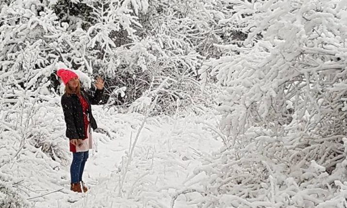 PHOTOS: Most of Croatia Wakes to Snow