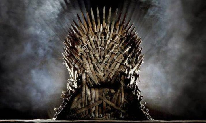Original Iron Throne from Game of Thrones on Display in Zagreb