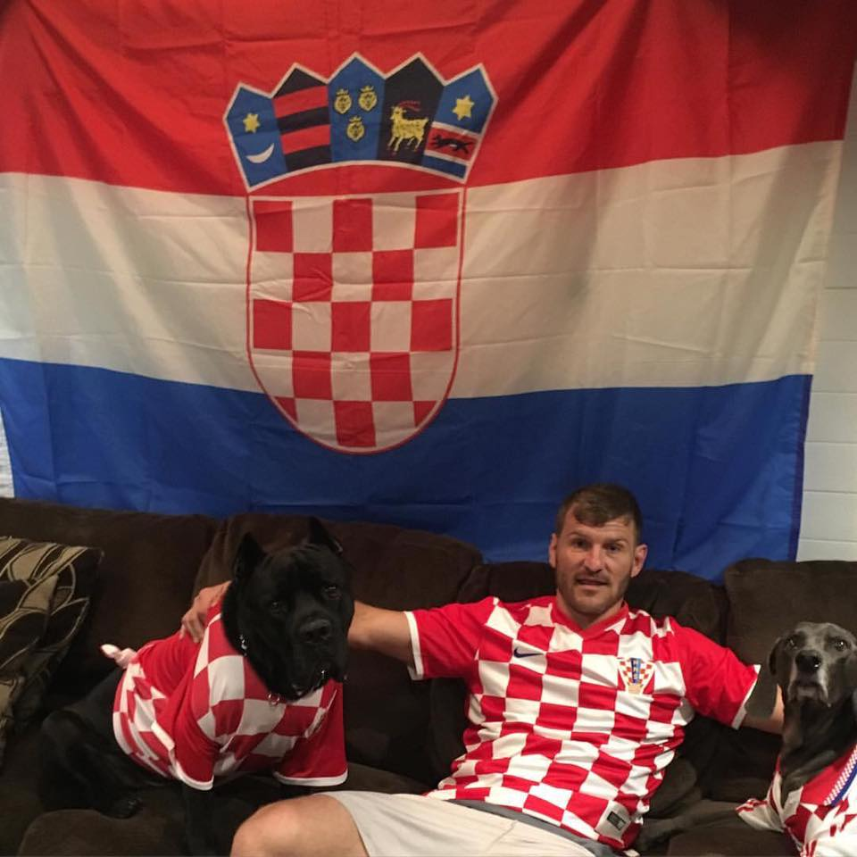 Stipe Miocic croatian