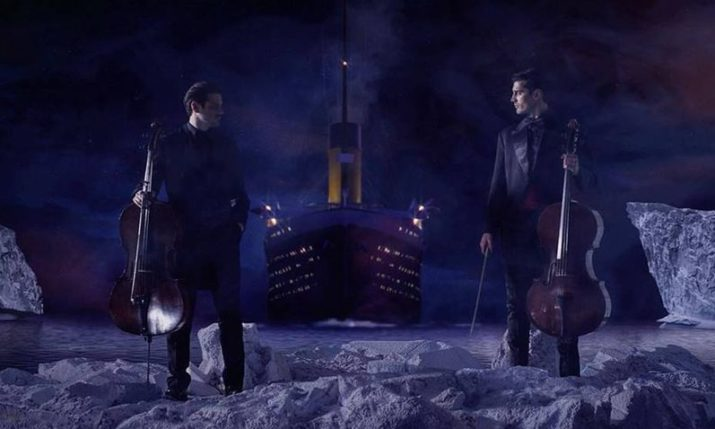 2CELLOS Cover Titanic Theme 'My Heart Will Go On' in New Video